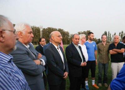 تاج: استقلال، تیم ملی ماست، امیدوارم بازی با السد، یک بازی خوب باشد