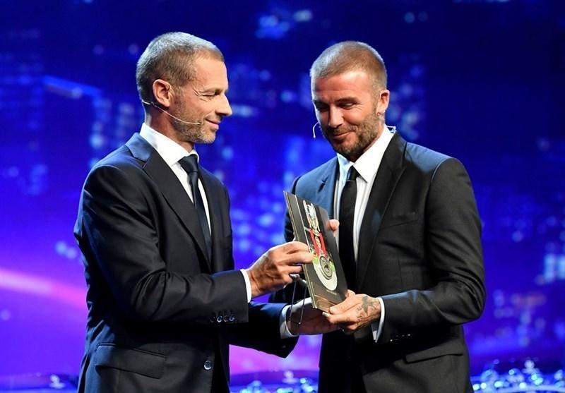 ناواس بهترین دروازه بان فصل گذشته لیگ قهرمانان شد، بکام جایزه ریاست یوفا را گرفت