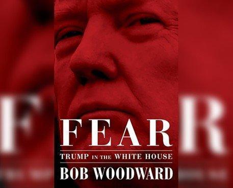 ترامپ کتاب جنجالی باب وودوارد درباره اتفاقات کاخ سفید را جوک خواند