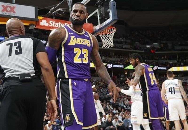 لیگ NBA، شکست تاریخی لیکرز، پیروزی پیستونز با درخشش گریفین