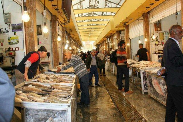 بوی تند ماهی و کسادی بازار