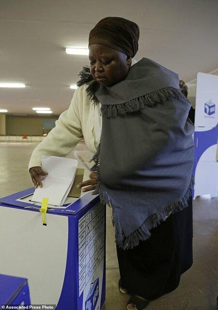 پیروزی مجدد حزب حاکم آفریقای جنوبی در انتخابات پارلمانی