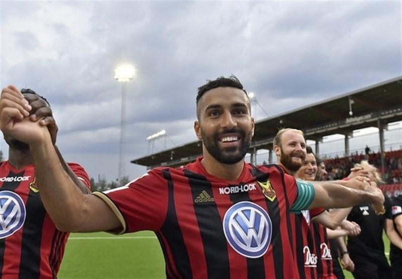 سامان قدوس در فهرست 50 بازیکن معرفی شده از سوئد به فوتبال دنیا