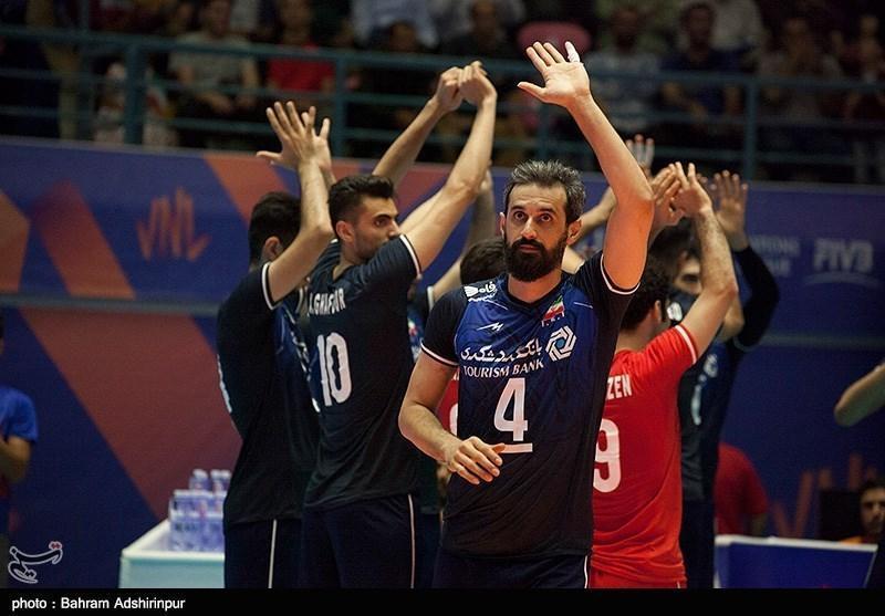 حضور پر رنگ بازیکنان تیم ملی والیبال ایران در جمع ترین های لیگ ملت ها