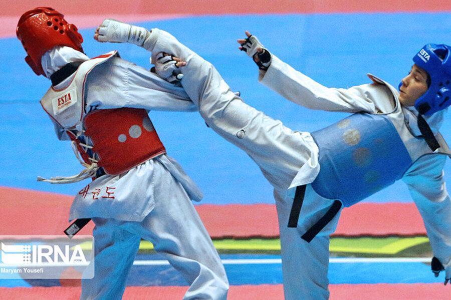 انتها مسابقات تکواندوی قهرمانی کشور بانوان در رده سنی جوانان و بزرگسالان