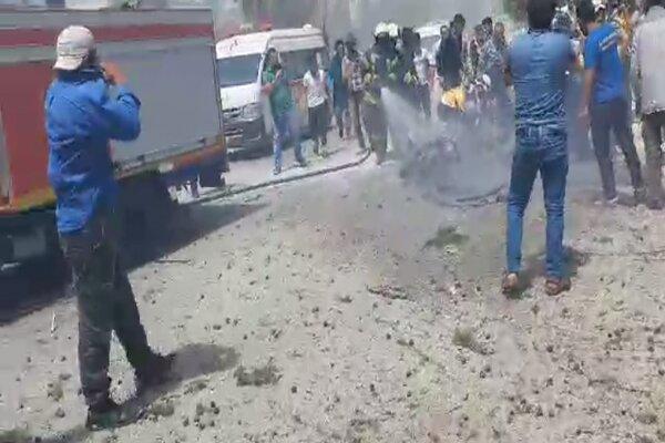 انفجار خودرو بمبگذاری شده در ادلب