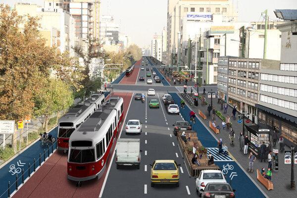 بهره برداری از اولین خیابان کامل در تهران تا خاتمه مهرماه