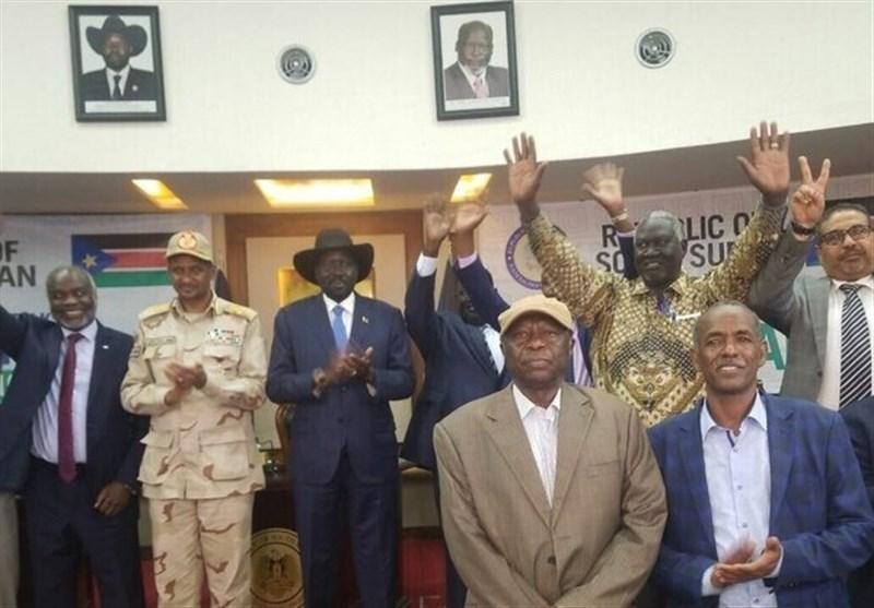 امضای رسمی بیانیه جوبا برای شروع مذاکرات میان دولت سودان و گروه های مسلح