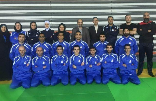 نایب قهرمانی جوجیتسو ایران در آسیا