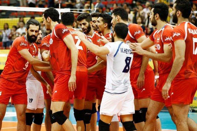 والیبال، امید نخست رشته های تیمی در بازی های آسیایی 2018