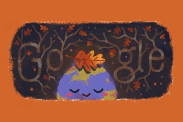 تغییر لوگوی گوگل با شروع پاییز