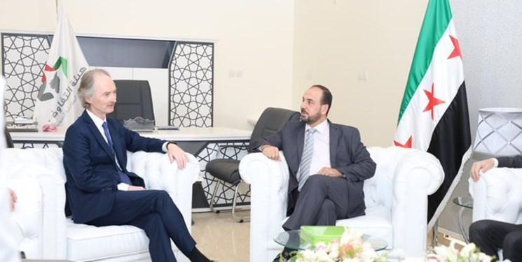 دیدار نماینده سازمان ملل با معارضان سوریه در ریاض