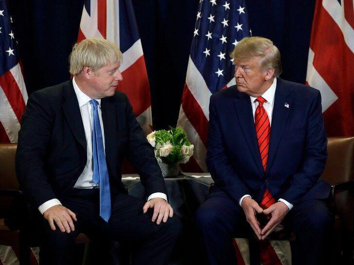 جانسون: ترامپ در انتخابات انگلیس دخالت نکند