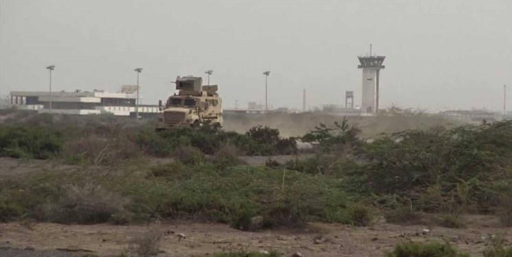 حمله توپخانه ای ائتلاف سعودی به فرودگاه بین المللی الحدیده