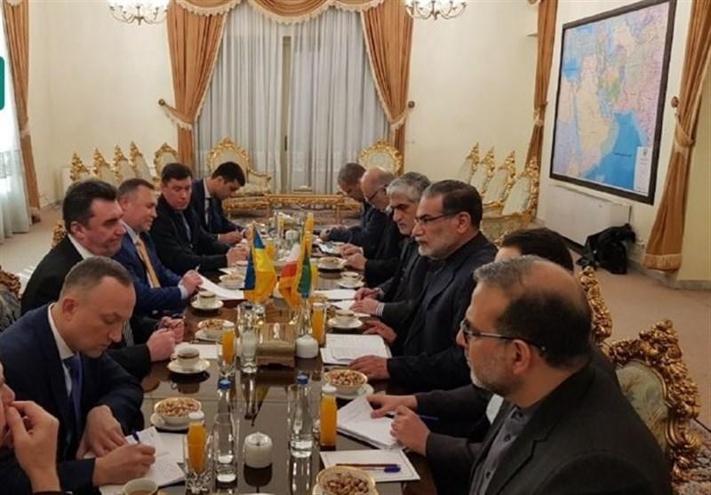 سفر هیئت عالی رتبه اوکراین به ایران و ملاقات با شمخانی