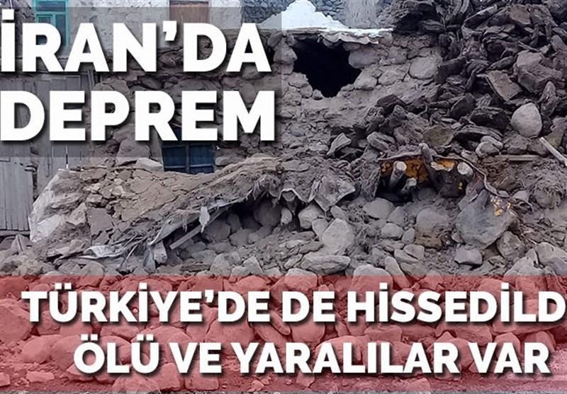 زلزله خوی ایران ترکیه را نیز لرزاند، 8 کشته در استان وان