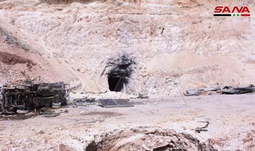 کشف مخفیگاه سرکرده جبهه النصره در حلب توسط ارتش سوریه