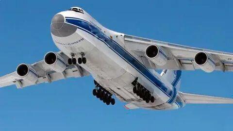 خبرنگاران هواپیمای روسی با تجهیزات پزشکی راهی آمریکا شد