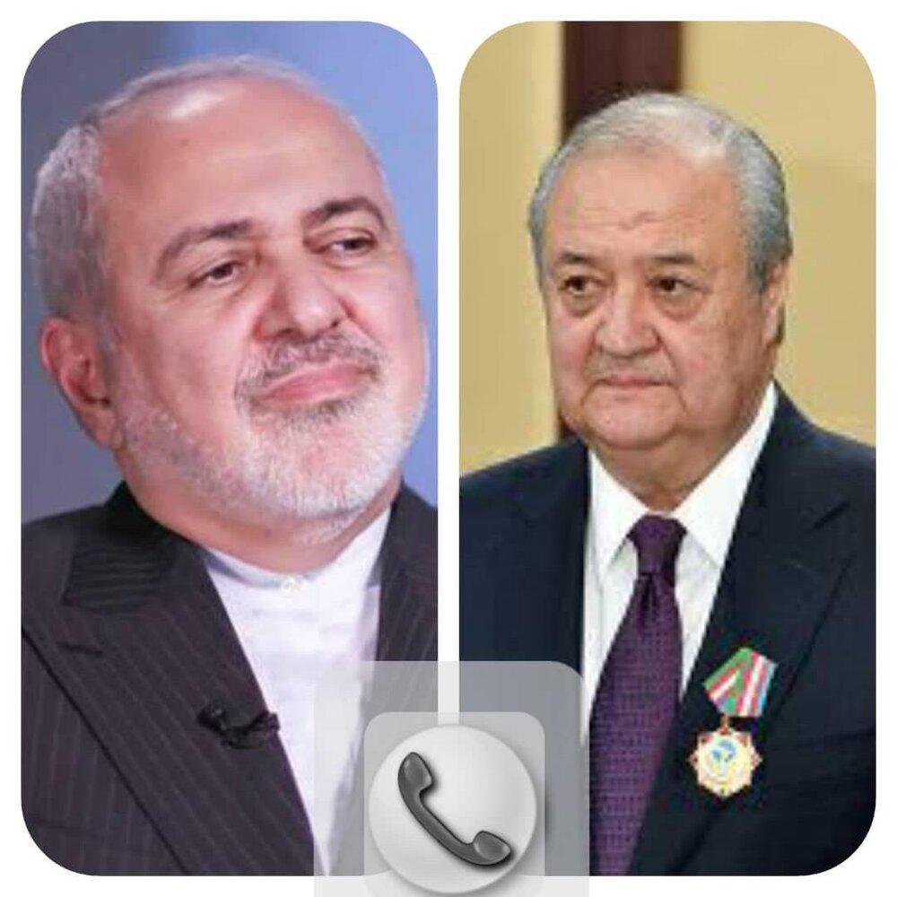 در تماس تلفنی ظریف با همتای ازبکستانی چه گذشت؟