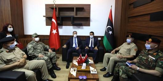 ترکیه و دولت وفاق ملی لیبی برای ایجاد ارتش مجهز به توافق رسیدند
