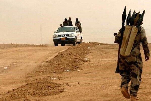 کشف انبار مهمات داعش در شمال شرق سامراء