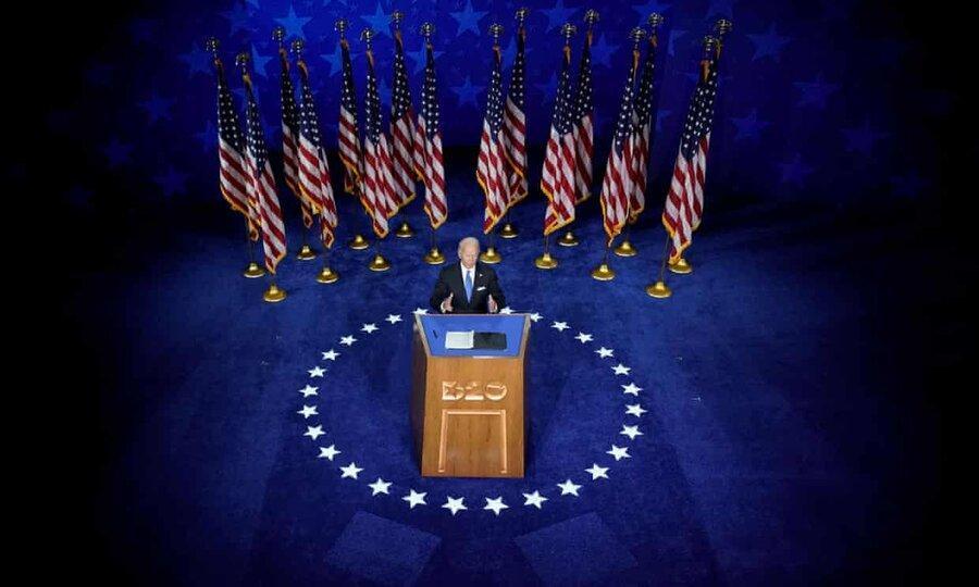 بایدن نامزدی حزب دموکرات را برای رئیس جمهوری پذیرفت ، بایدن: فصل تاریکی را انتها می دهم