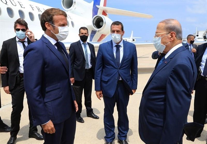 ماکرون وارد بیروت شد