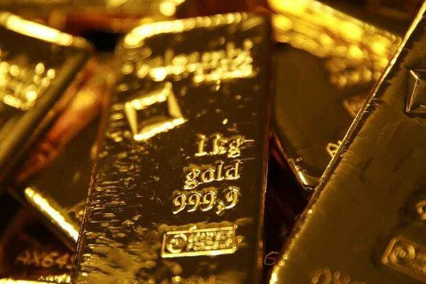 قیمت جهانی طلا به بالاترین سطح یک هفته ای رسید و سپس افت کرد