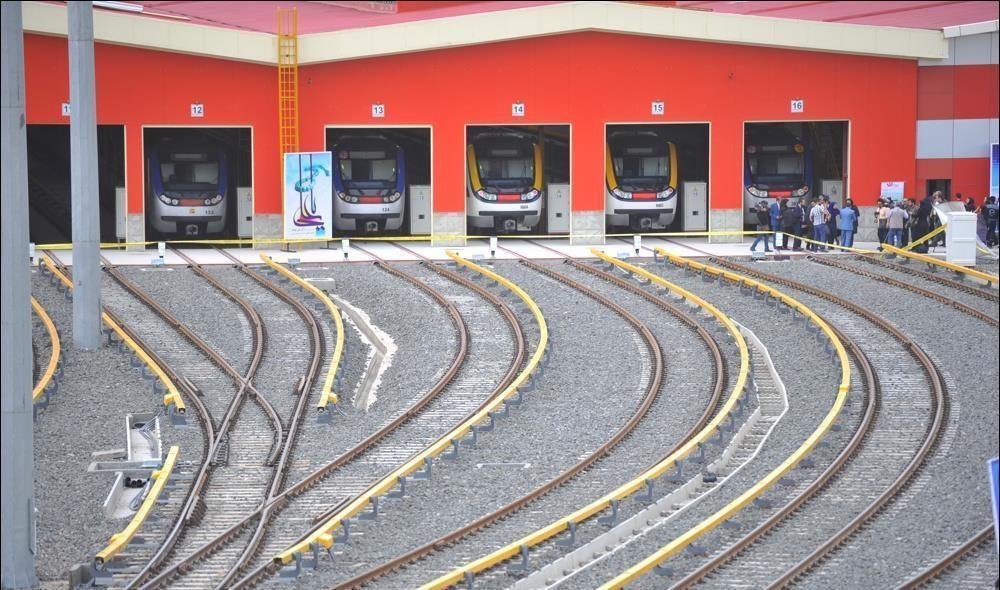 ظرفیت جابجایی مسافر در خط 3 متروی تهران دو برابر می گردد