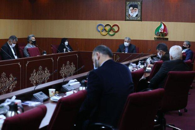 نشست هیات اجرایی کمیته ملی المپیک برگزار گردید