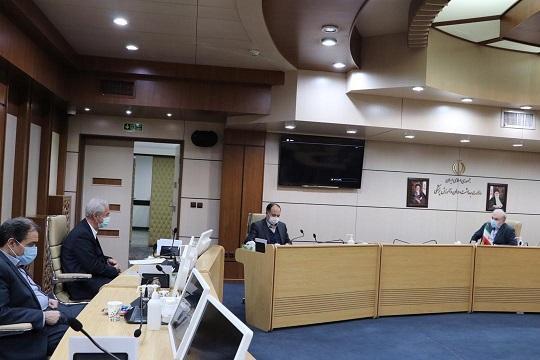 ملاقات استاندار آذربایجان شرقی با وزیر بهداشت ، درمان و آموزش