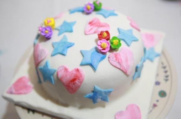 2 روش برای تزیین کیک خانگی رنگین کمانی