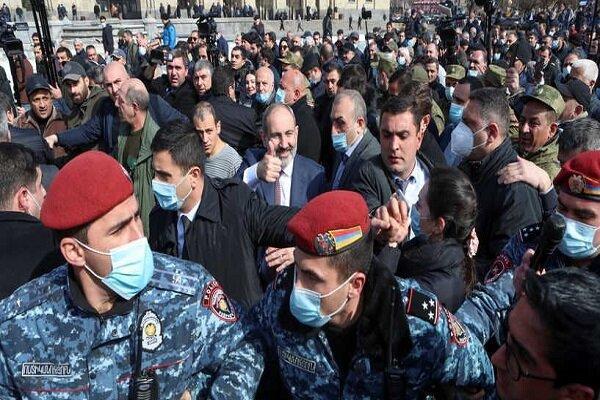 کودتای نظامی یا تهدید لفظی، در ارمنستان چه می گذرد؟