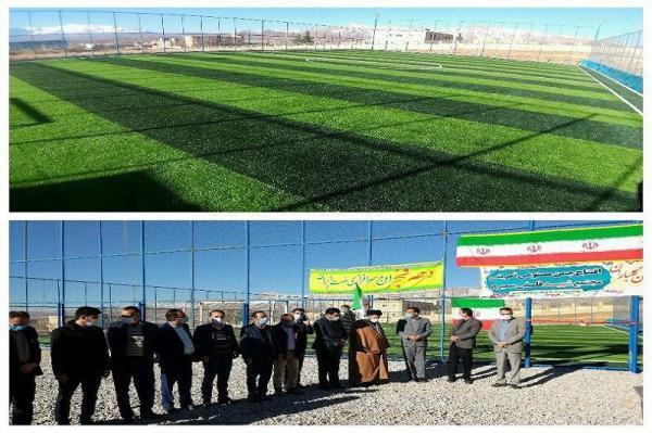 خبرنگاران 5 طرح عمرانی و ورزشی در سمیرم افتتاح شد
