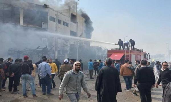 خبرنگاران آتش سوزی در مصر 20 کشته و 24 زخمی برجا گذاشت