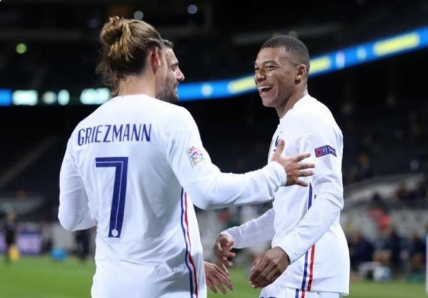 مقدماتی جام جهانی 2022، فزونی فرانسه مقابل قزاقستان با گلزنی دمبله