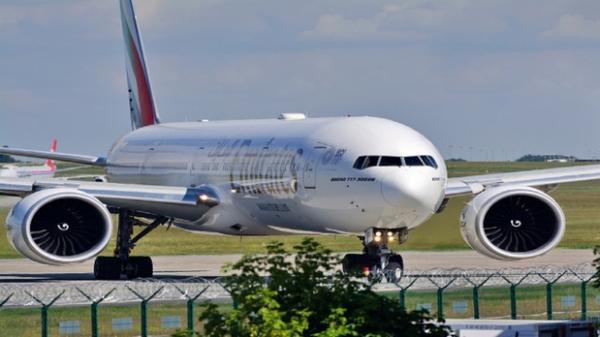 فرود اضطراری بوئینگ 777 در مسکو