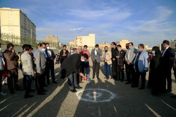 خبرنگاران ساخت مجموعه ورزشی در محله مرادآباد تهران شروع شد