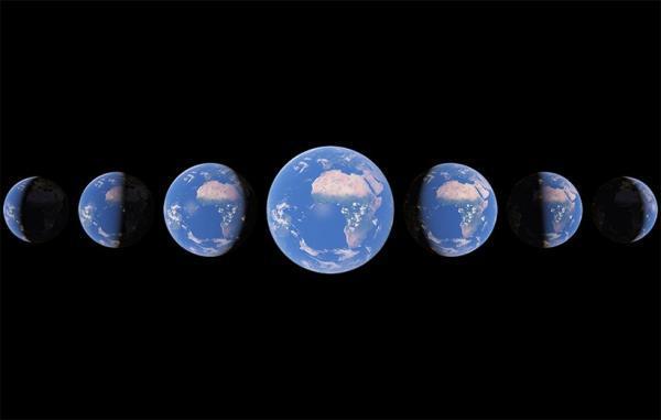 گوگل ارث تایم لپس 37 سال گذشته کره زمین را در به روزرسانی جدید ارائه کرد