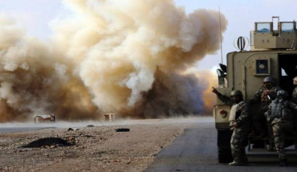 حمله به کاروان لجستیک نظامیان آمریکا در استان ذی قار