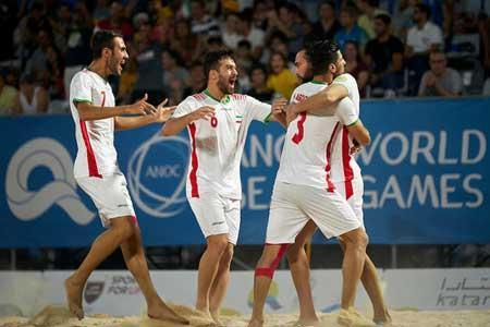 حذف تیم ملی فوتبال ساحلی ایران با محاسبات AFC نادرست است