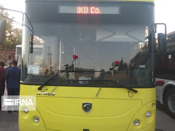 خبرنگاران 50 اتوبوس جدید وارد خیابان های شیراز شدند