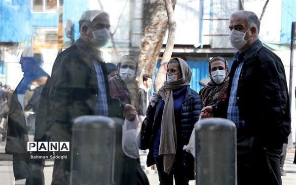 توصیه های کرونایی: ماسک را در فاصله یک متری با افراد از صورت برندارید