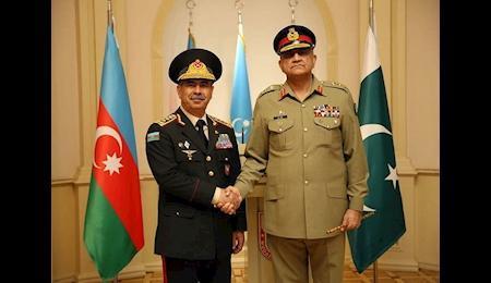 برگزاری مانور مشترک نظامی جمهوری آذربایجان و پاکستان