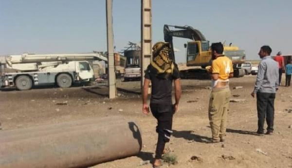 انفجار خط لوله نفت و گاز در شوش سه کشته بر جا گذاشت
