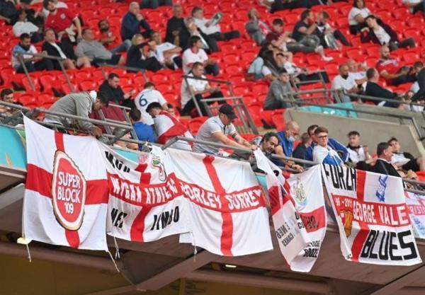 یورو 2020، یوفا، انگلیسی ها را نقره داغ کرد